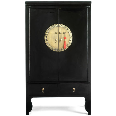 Wedding Cabinet, Black Lacquer