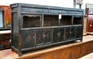 Qinghai painted sideboard