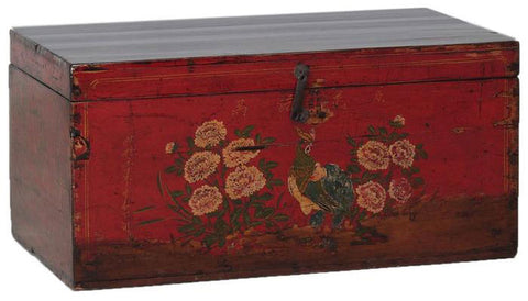 Painted Chinese Storage Box