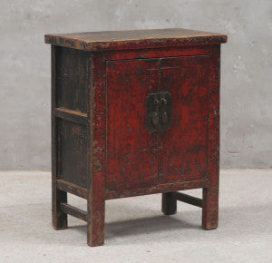 Red Lacquer Cabinet, Shanxi