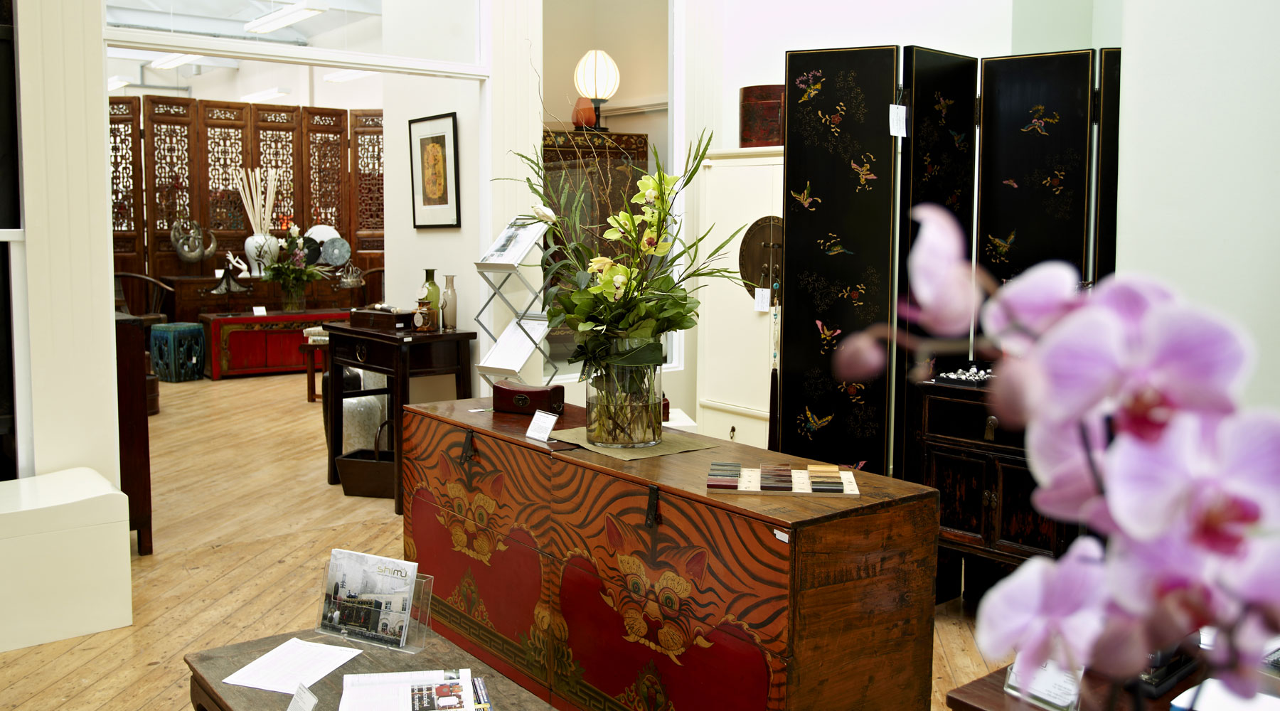 Shimu showroom oriental furniture