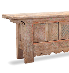 Antique Chinese sideboard, Xinjiang