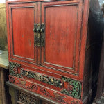 Antique Chinese Book Cabinet