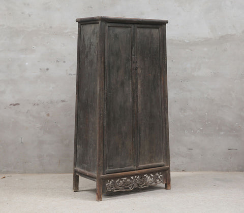 Shanxi elm tapered armoire
