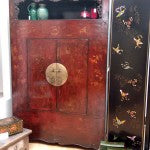Shanxi Armoire in Shimu's showroom
