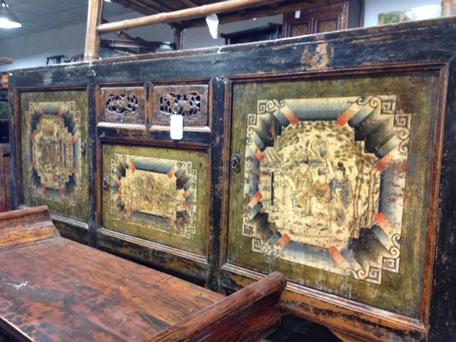 Yulin Painted Cabinet