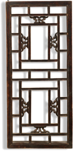 Chinese window panel