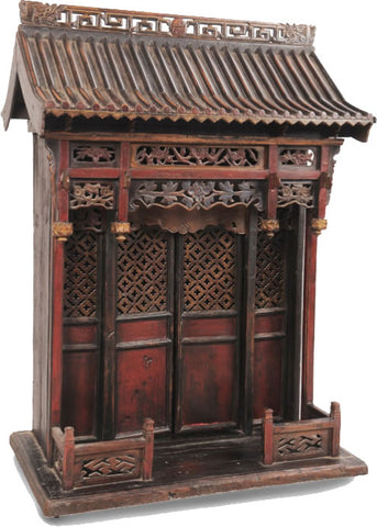 Chinese antique shrine