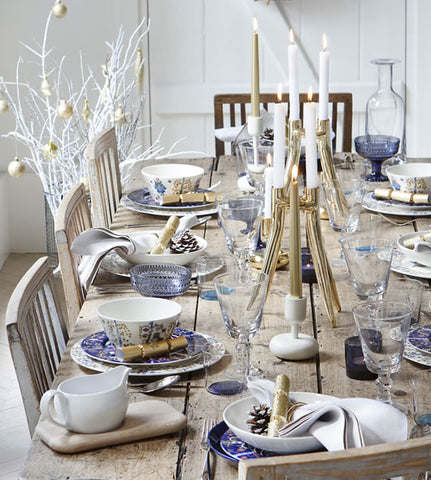 rustic table set
