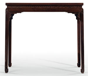 Zitan Chinese table, circa 1800