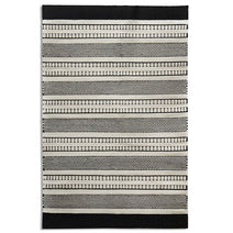 Belle Wool  Rug, Dark Stripes