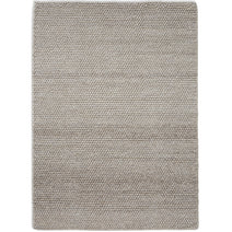 Loopy Wool Rug, Oatmeal
