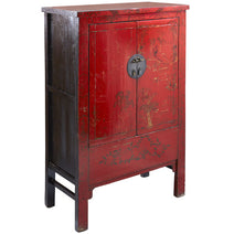 Decorated Shanxi Wedding Cabinet