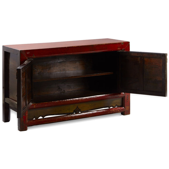 Pair of Lacquered Chinese Sideboards