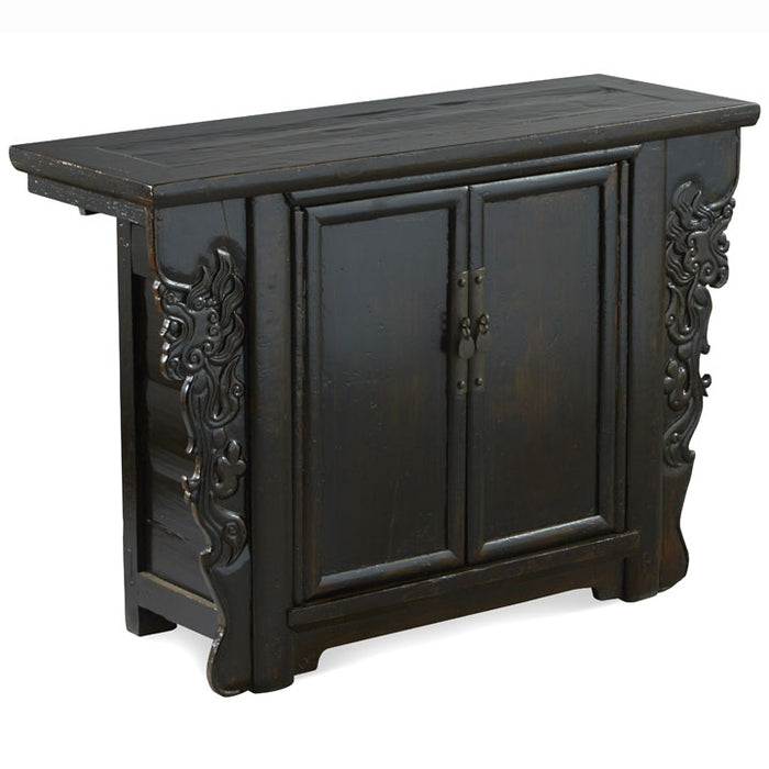 Sideboard with Dragon Carvings
