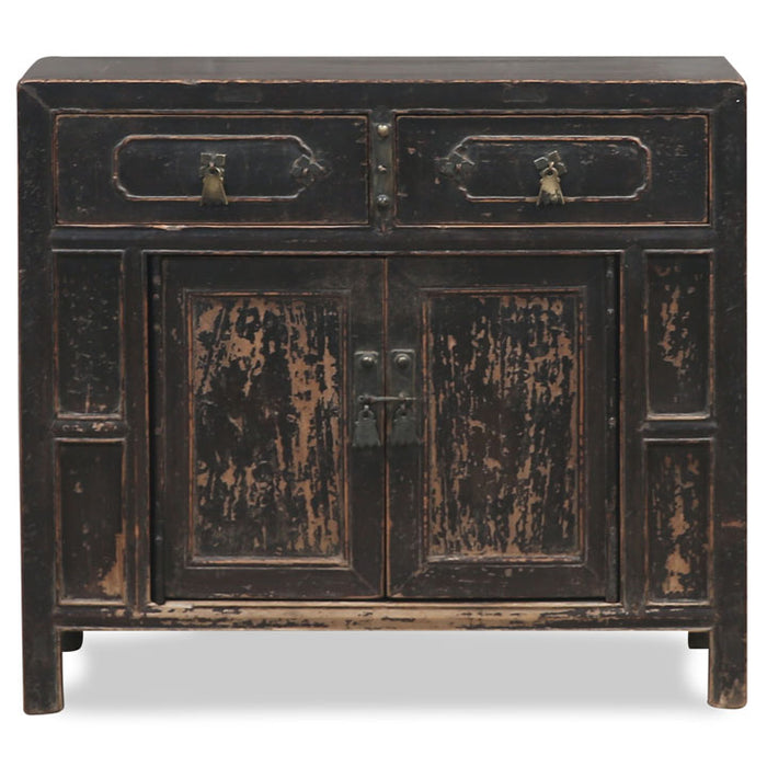 Black Shanxi Small Sideboard