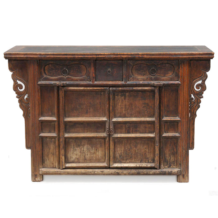 Chinese Antique Cabinet, Elm Shanxi
