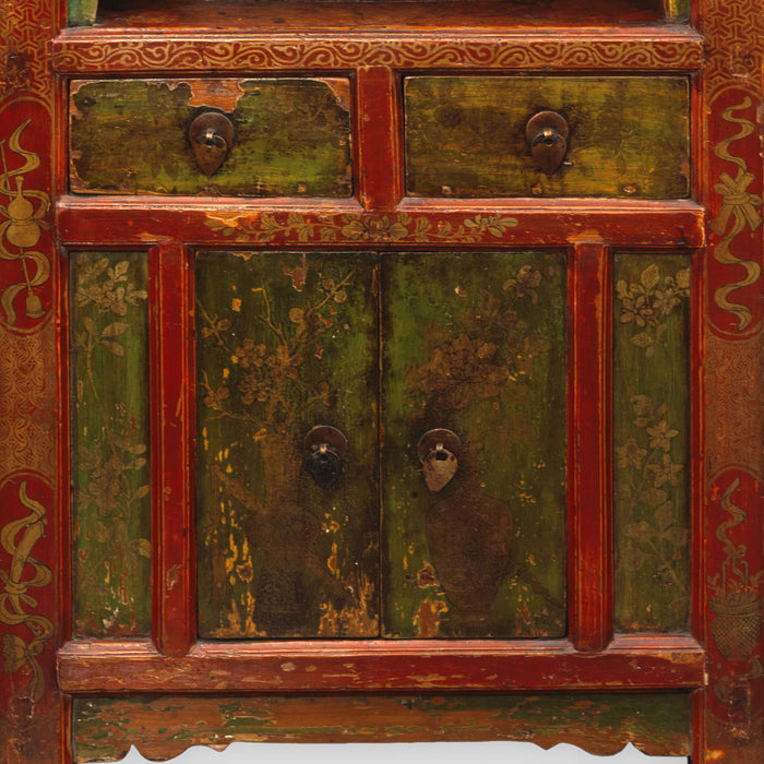 Mongolian Display Cabinet