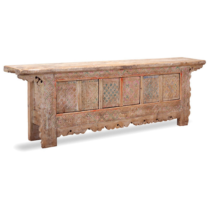 Xinjiang Carved Sideboard