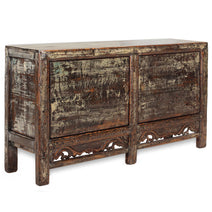 Gansu Distressed Blue Sideboard