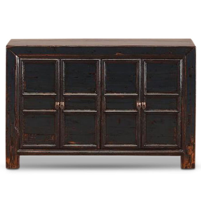 Dark Blue Panelled Sideboard