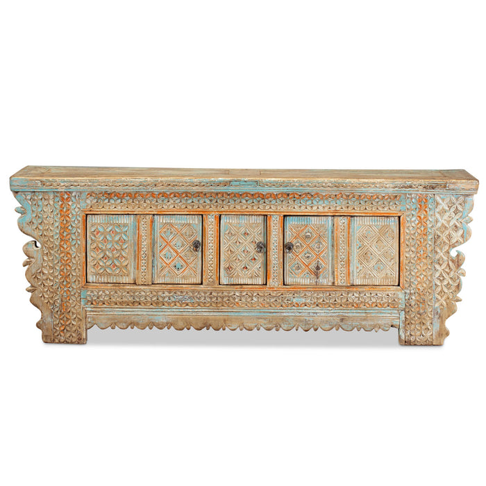 Xinjiang Low Pale Blue Sideboard