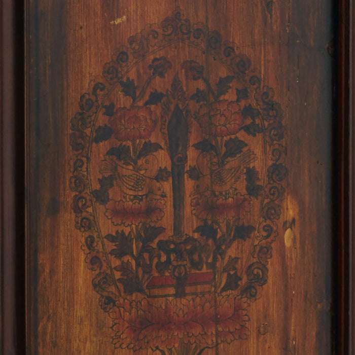 Pair of Painted Wooden Panels
