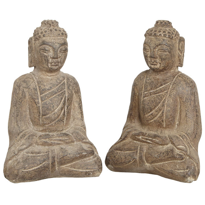 Small Stone Seated Buddha