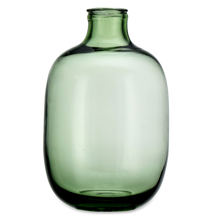 Lua Glass Vase - Green
