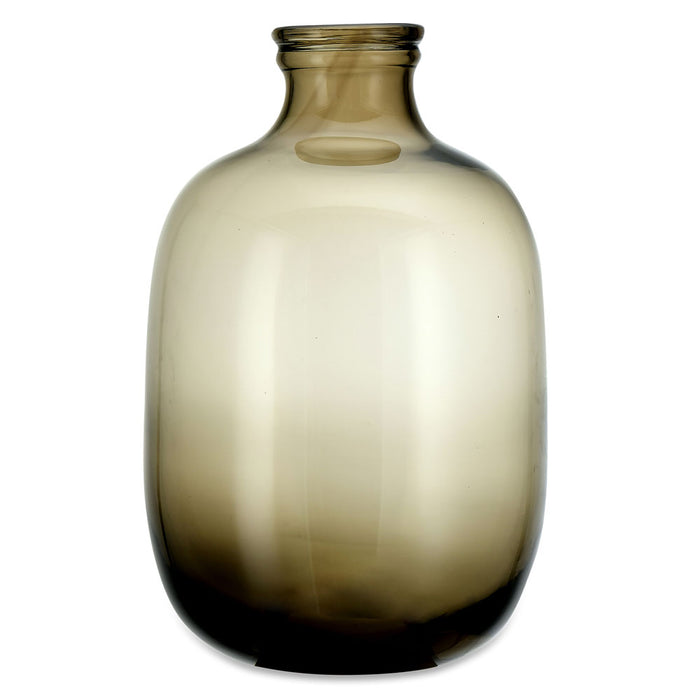 Lua Glass Vase - Vintage Brown
