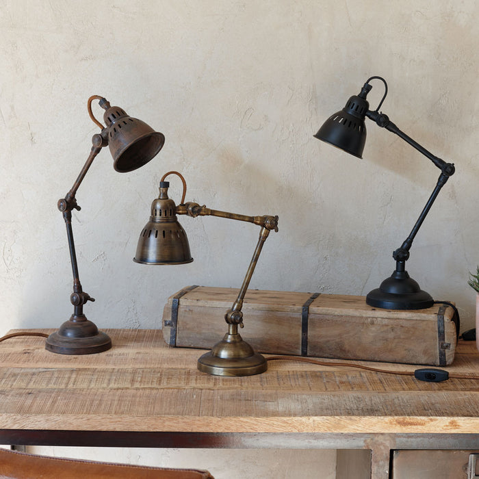Tubu Brass Desk Lamp