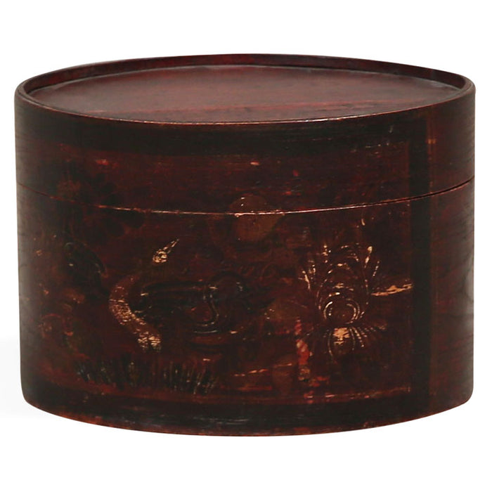 Chinese Antique Hat Box
