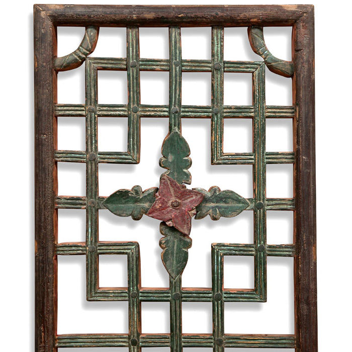 Long Carved Window Panel