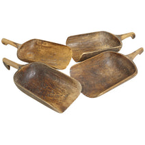 Wooden Grain Scoop