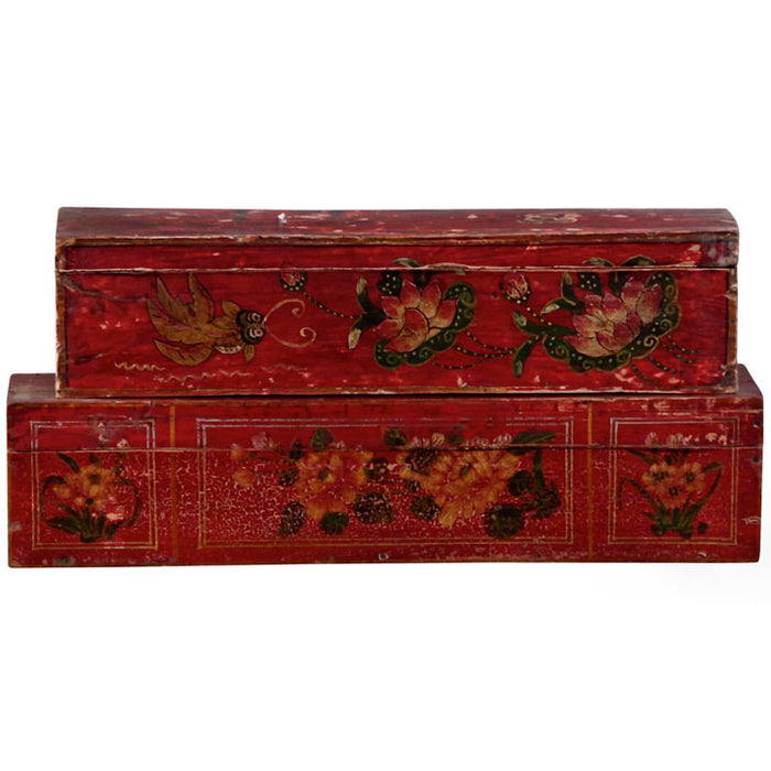 Mongolian Painted Box