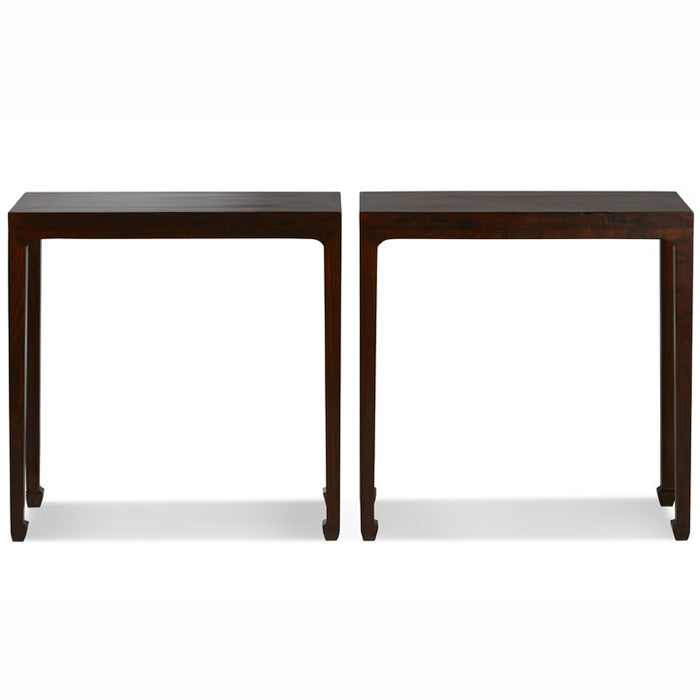 Pair of Narrow Side Tables