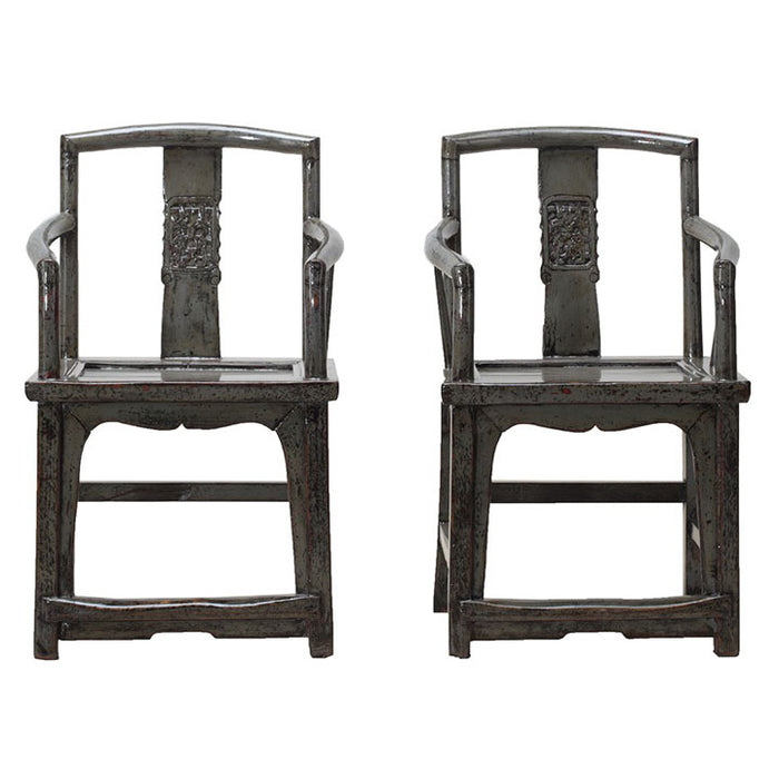 Pair of Grey Southern Offical Chairs