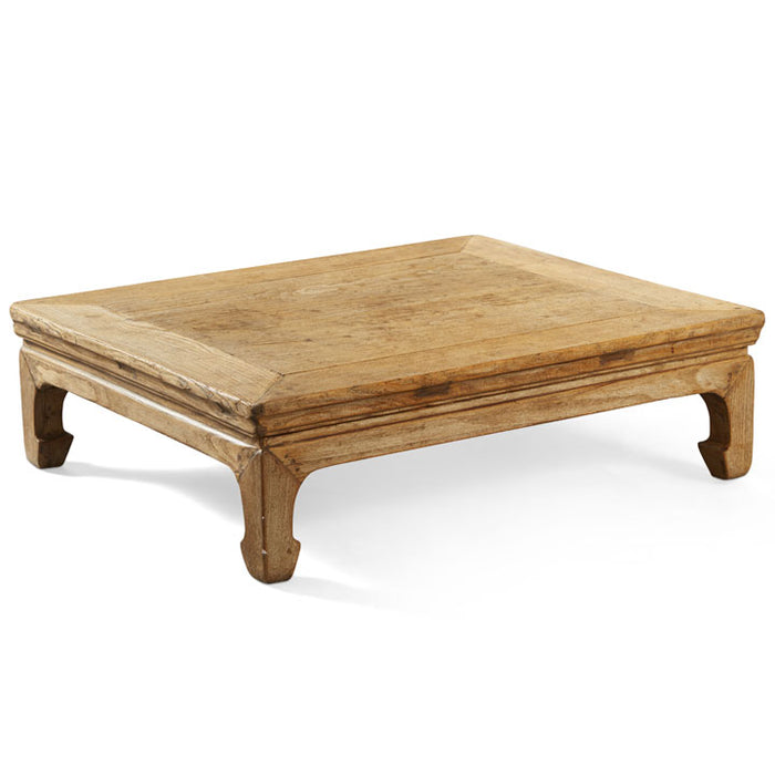 Shanxi Elm Kang Table, Chinese Low Table