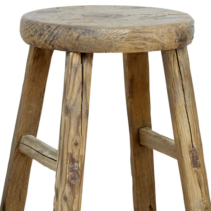 Round Chinese Wooden Stool
