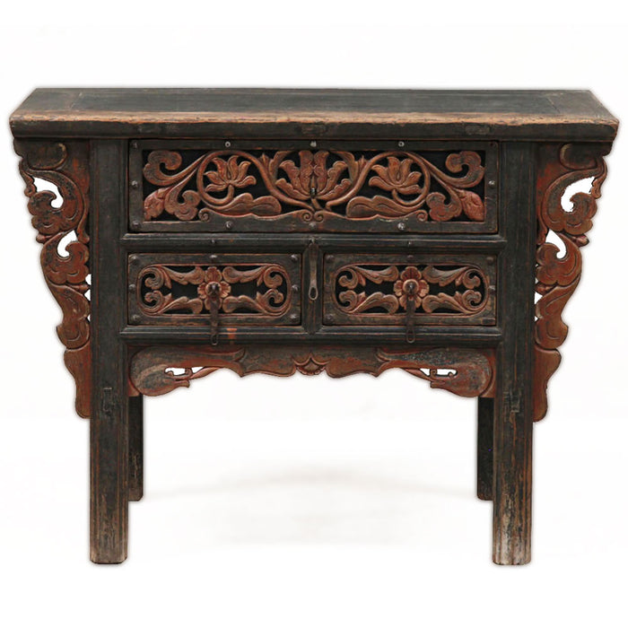 Oriental Carved Coffer