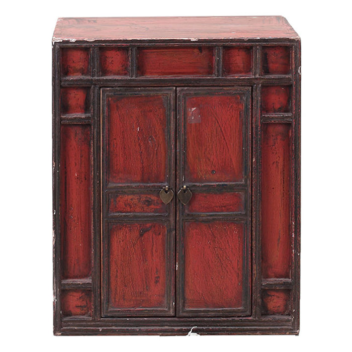 Red Lacquer Document Chest
