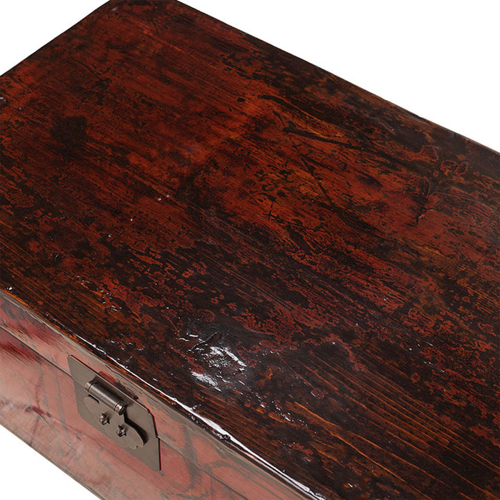 Shandong Red Lacquer Trunk