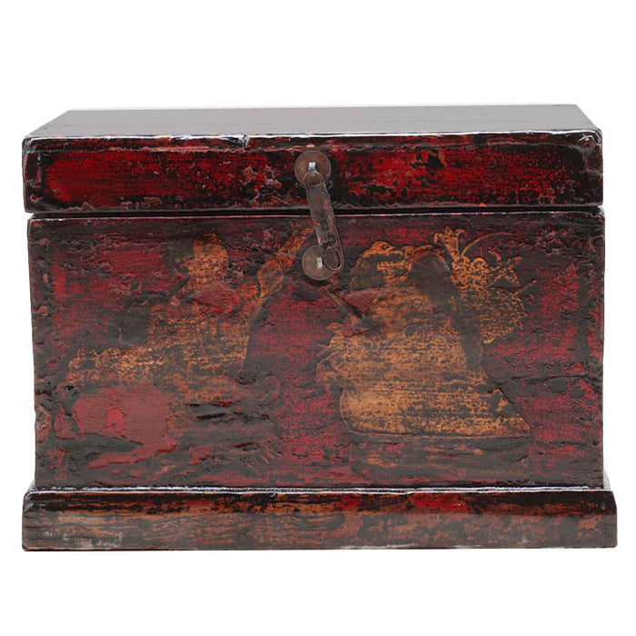 Painted Box with Figures