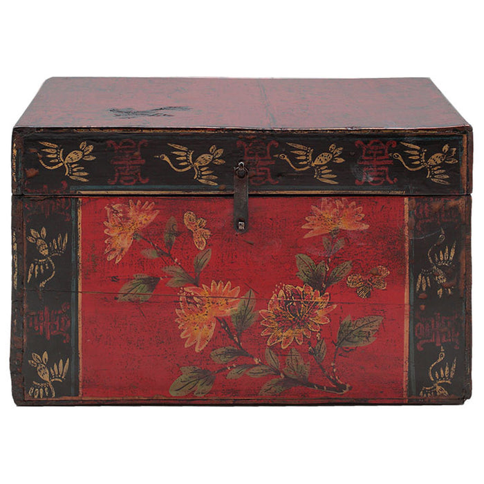 Painted Box with Flowers
