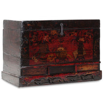 Painted Pine Oriental Trunk