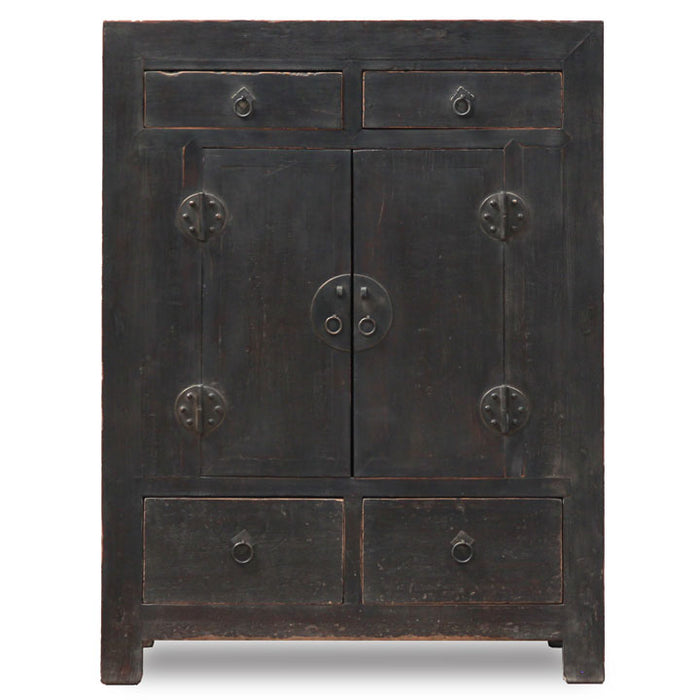 Antique Shanxi Mid Sized Cabinet