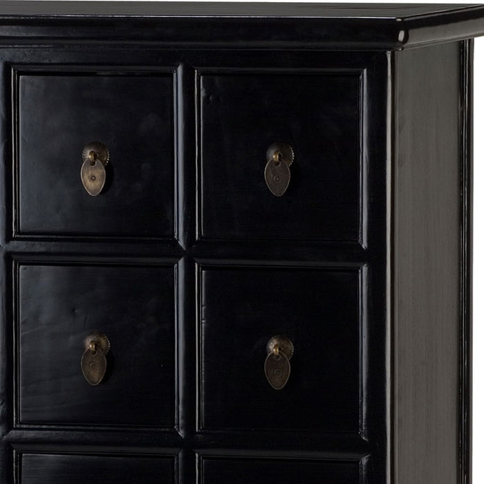 Apothecary's Cabinet, Black Lacquer
