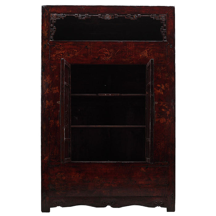 Large Shanxi Painted Armoire