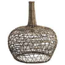 Beru Rattan Lampshade, Conical