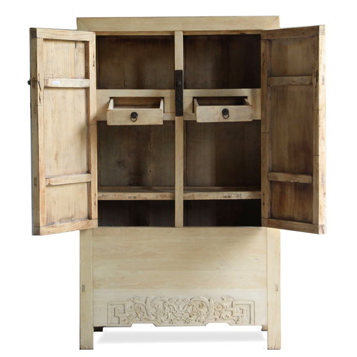 Armoire in Natural Finish